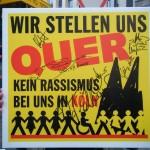 21. September 2008: Protest gegen den Anti-Islamisierungskongress in Köln