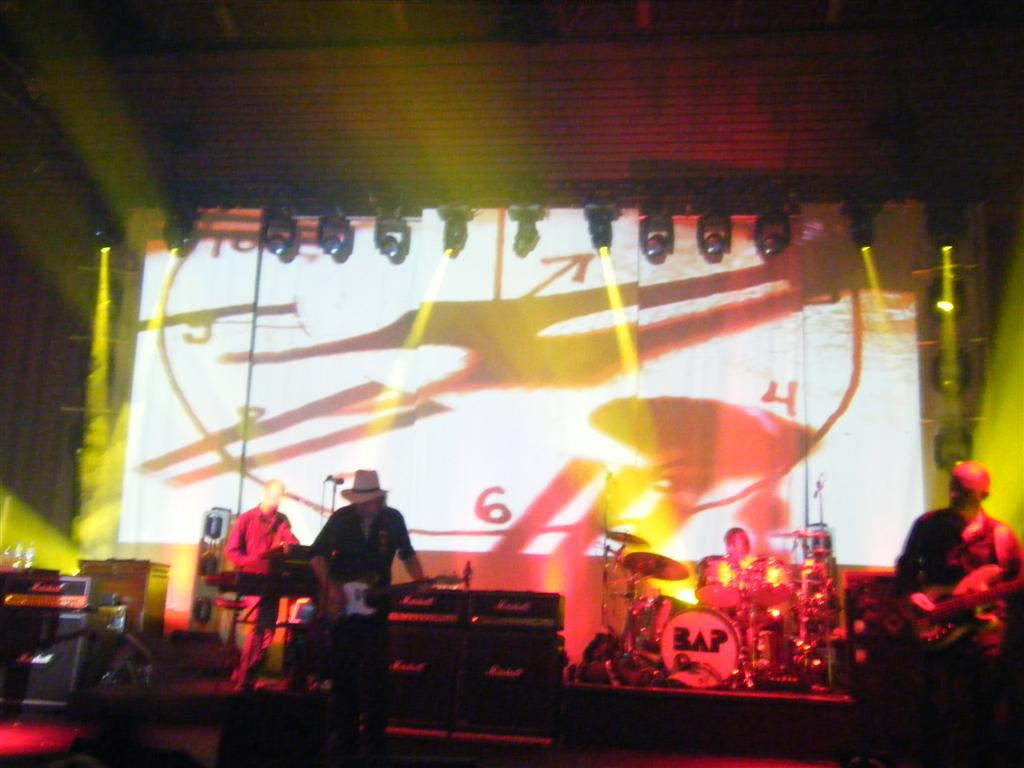 "24. November 2008: Startder BAP-Tour ""Radio Pandora"" in Saarbrücken"