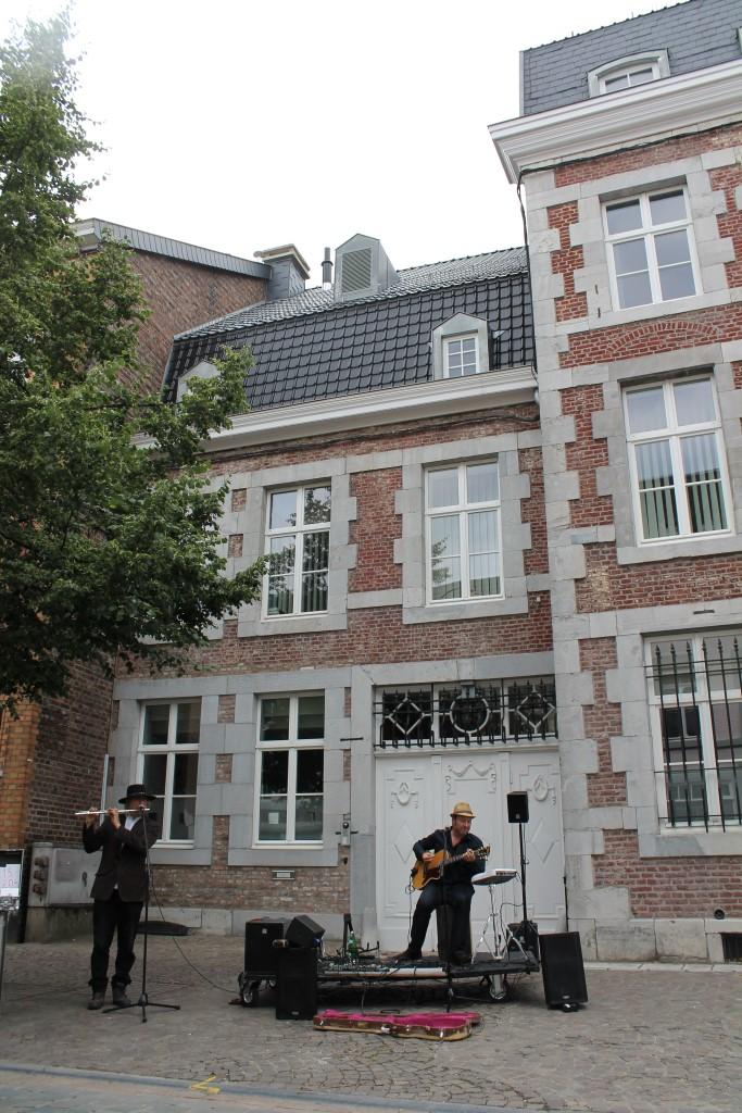 MusikMarathon Eupen 2013: Straßenmusiker