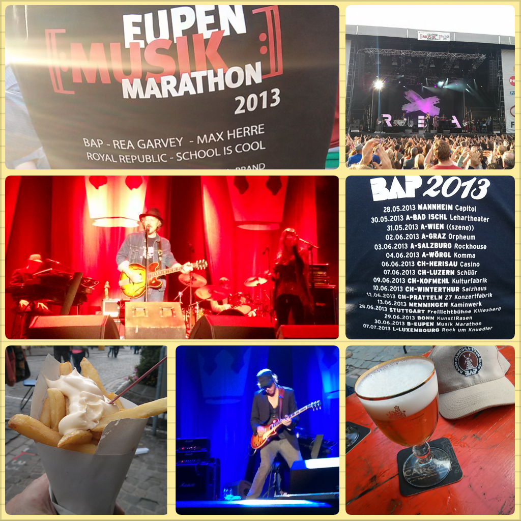 MusikMarathon Eupen 2013: BAP