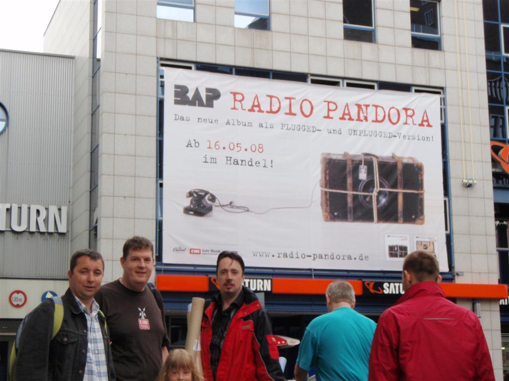 17. Mai 2008: BAP-Autogrammstunde im Saturn, Köln