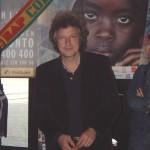 9. Mai 2004: Wolfgang Niedecken, Botschafter für Afrika