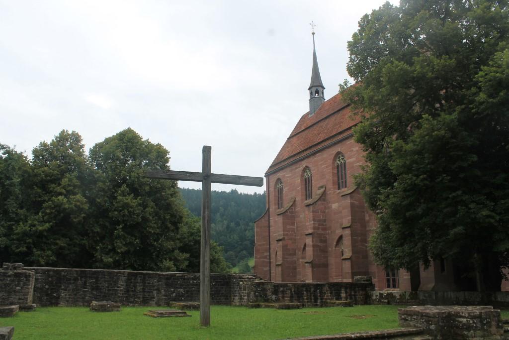 Die Klosterkapelle St. Peter und Paul.