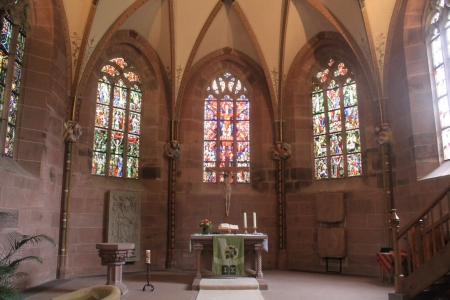 In der Klosterkapelle.