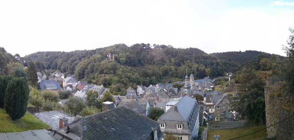Panoramablick über Monschau.