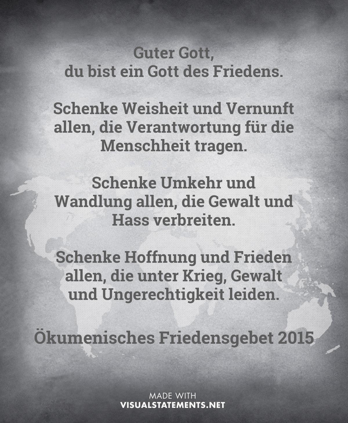 Frieden - ÖFG 2015