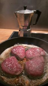Steak mit Kaffeesauce (1)
