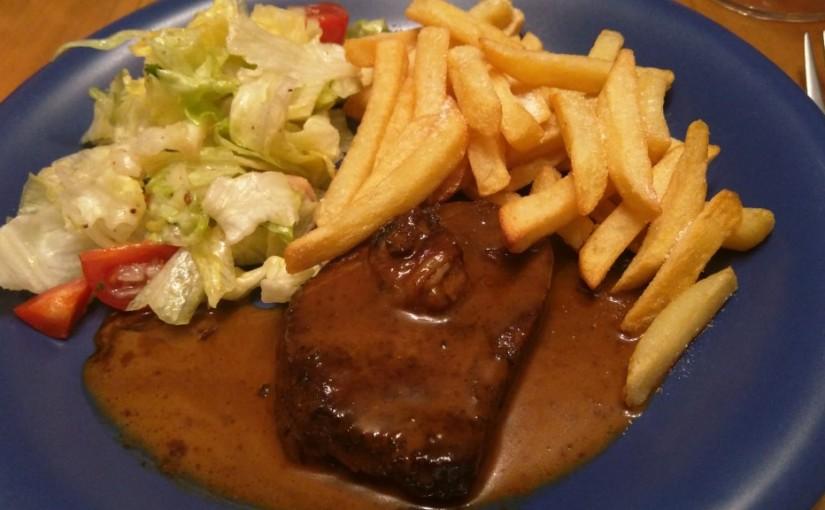 Steak mit Kaffeesauce (3)