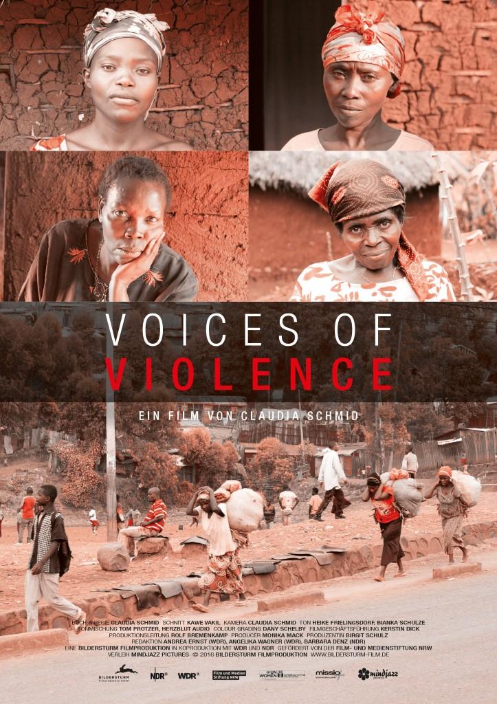 Plakat zum Film »Voices of Violence«