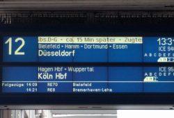 Hannover Hbf, Gleis 12, ICE 950 nach Kölnv