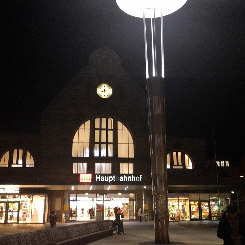 Angekommen: Aachen Hbf