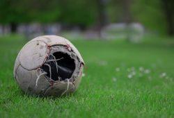 In diesem Fußball ist die Luft raus.