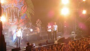 """Die Toten Hosen in Buenos Aires: in der Konzerthalle """"Estadio Obras Sanitarias"""" (2)"""