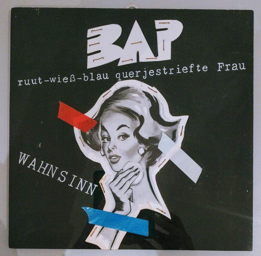 Unveröffentliches Single-Cover-Design (Wolfgang Niedecken?)