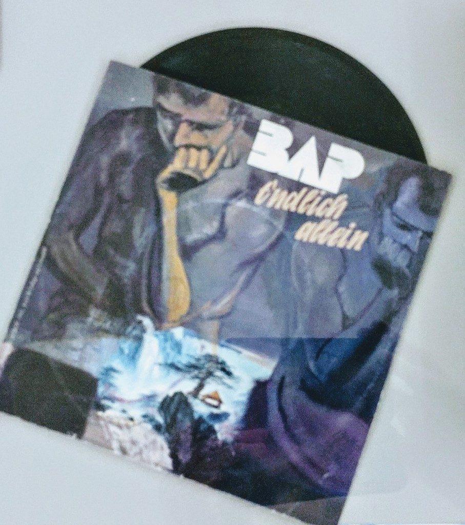 Asiatischer Denker (Rainer Gross, 1985) auf der Single 'Endlich allein'
