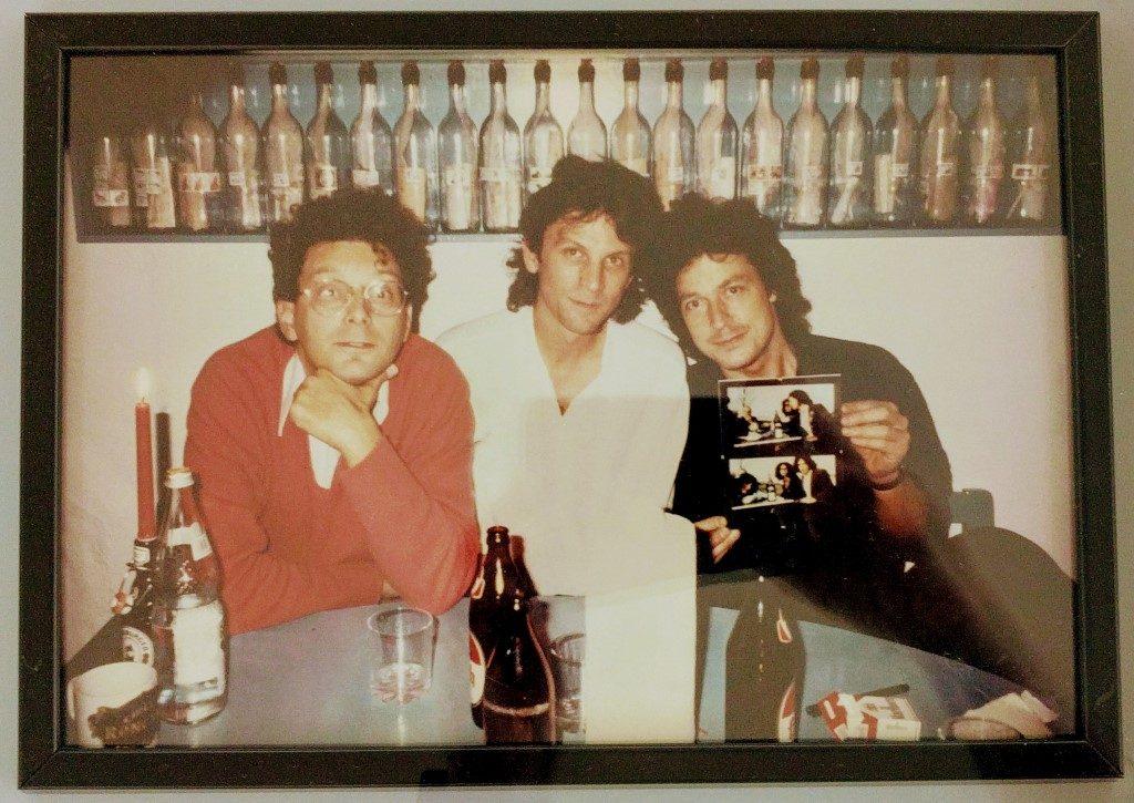 Rainer Gross, Manfred Boecker, Wolfgang Niedecken (Köln, 1982)