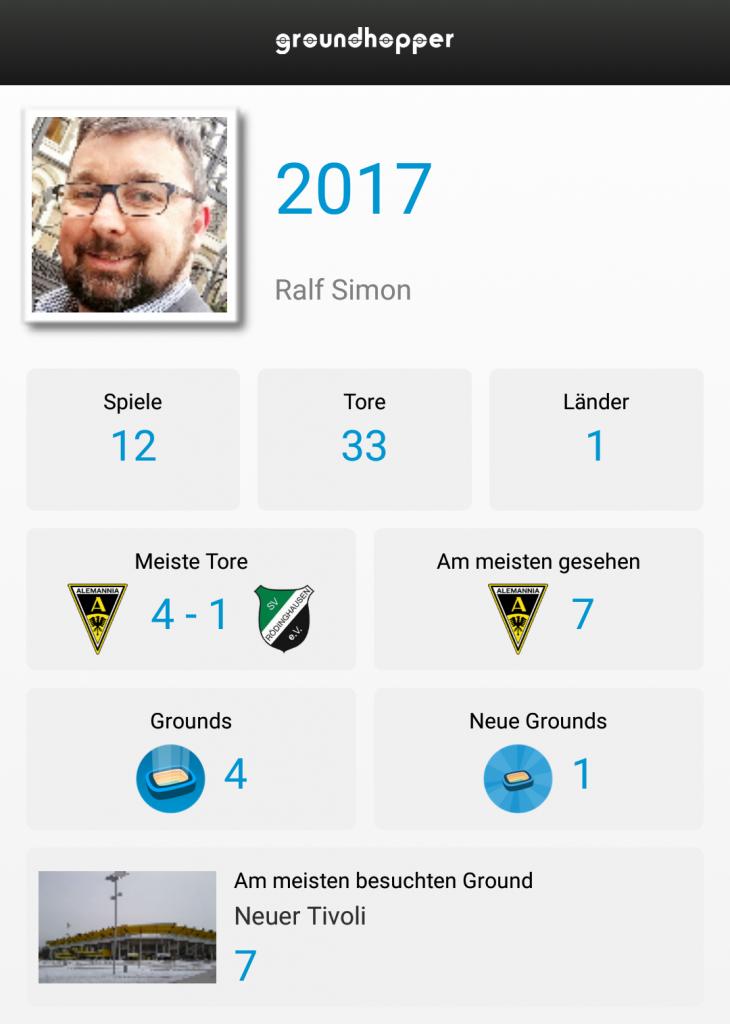 Meine Swarm-Aktivitäten in 2017
