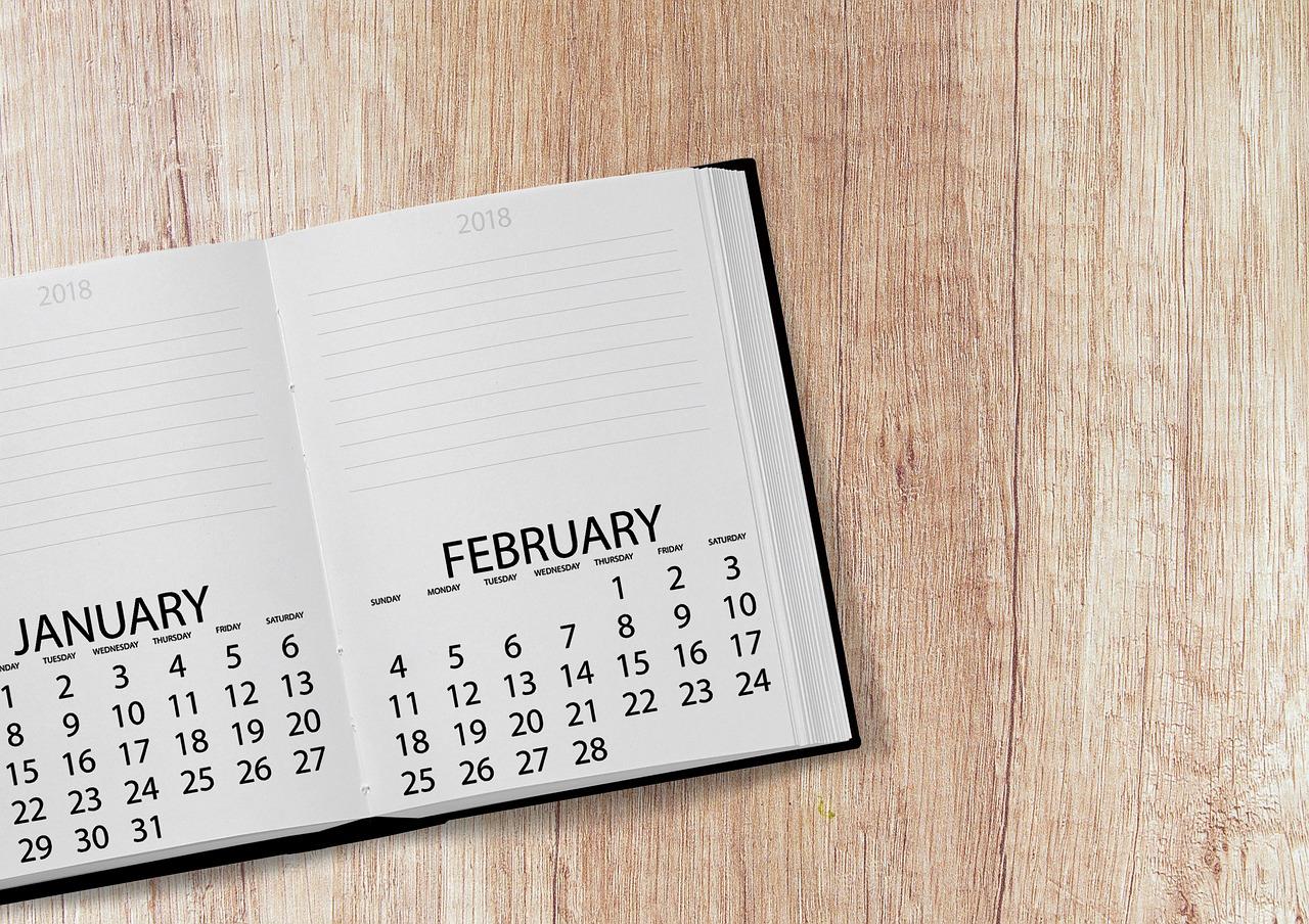 Kalender 2018 | Foto: darkmoon1968 / Pixabay