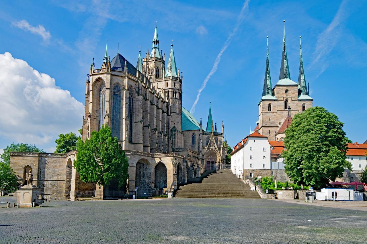 Der Hohe Dom zu Erfurt