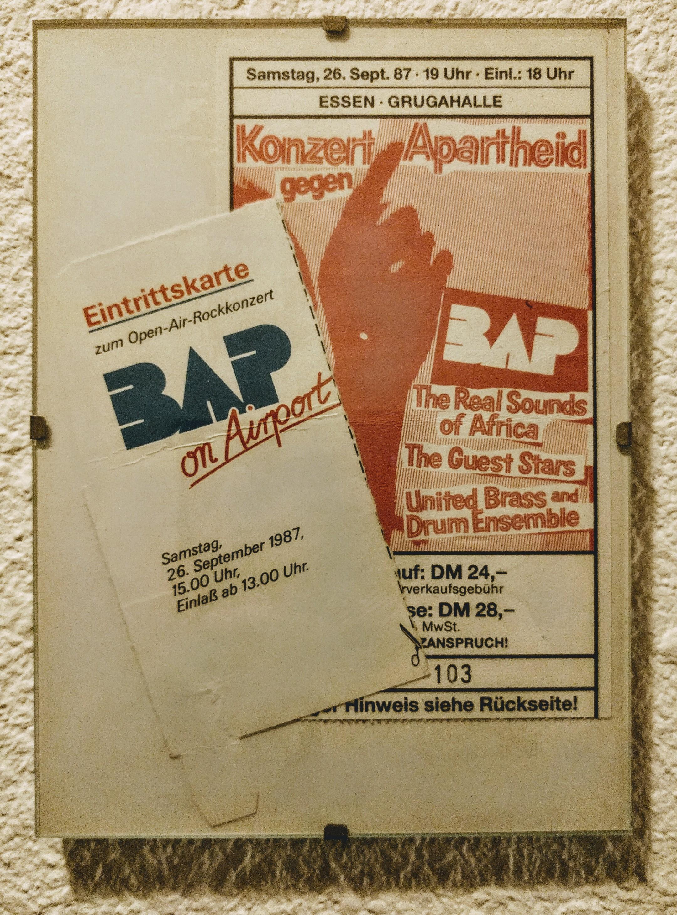 Zwei BAP-Konzerte an einem Tag: das gab es wohl nur am 26. September 1987!