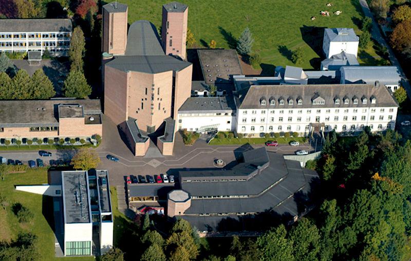 Luftbild der Abtei Königsmünster | Foto: Abtei Königsmünster