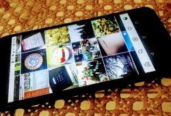 Smartphone Nexus 5X mit Instagram