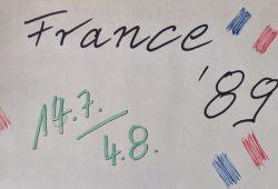InterRail 1989 durch Frankreich