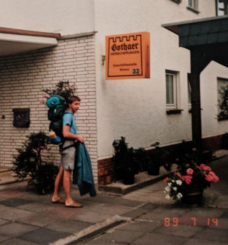 InterRail 1989 - Auf geht's nach Frankreich!