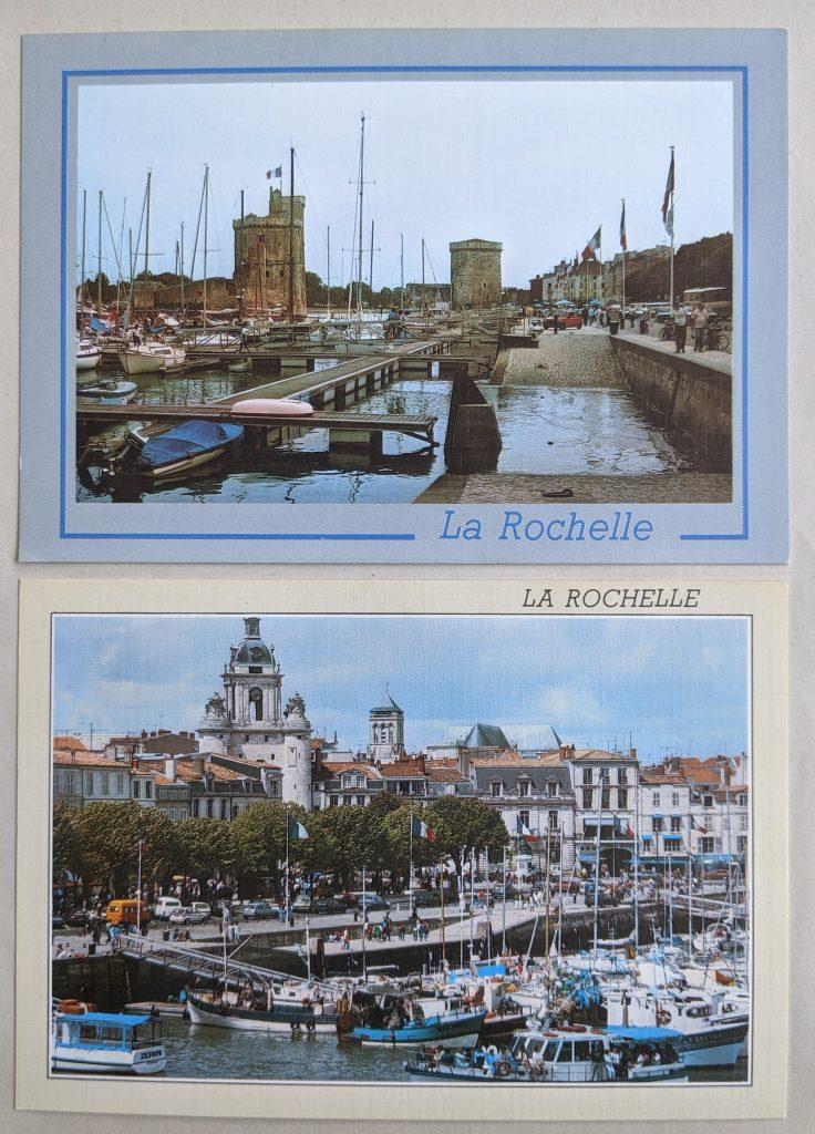 InterRail 1989: Postkarten aus La Rochelle