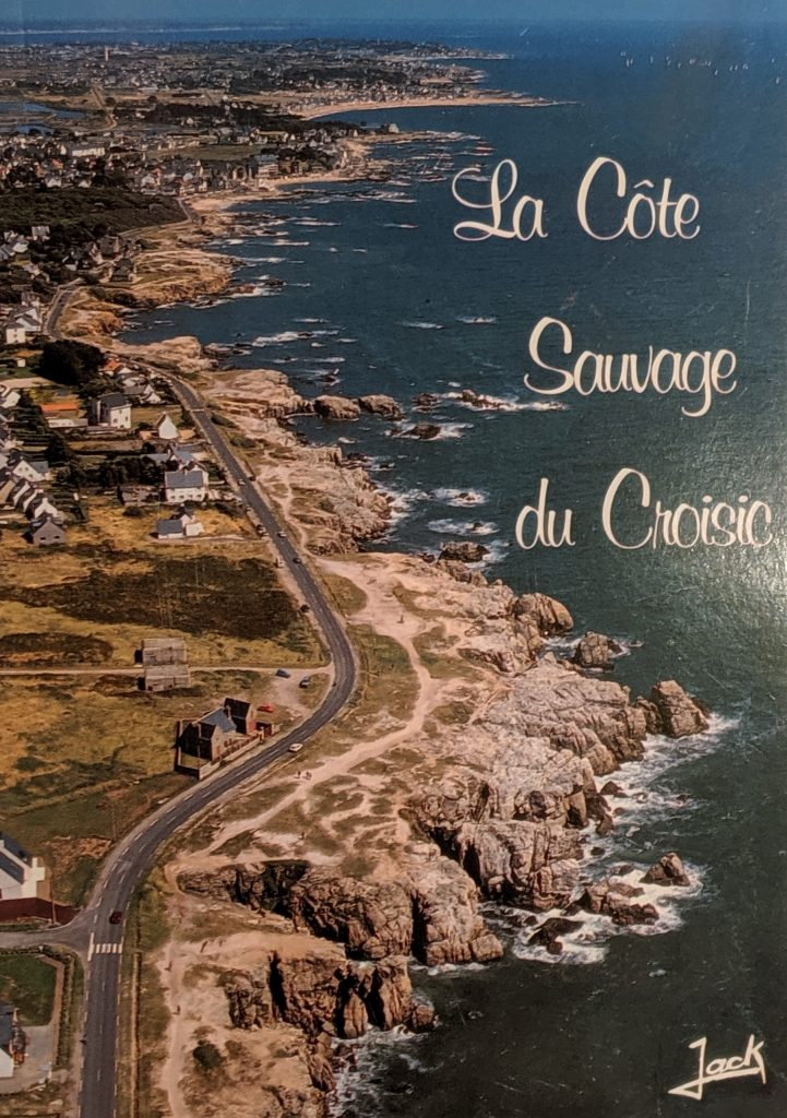 InterRail 1989: Postkarte (2) aus Le Croisic