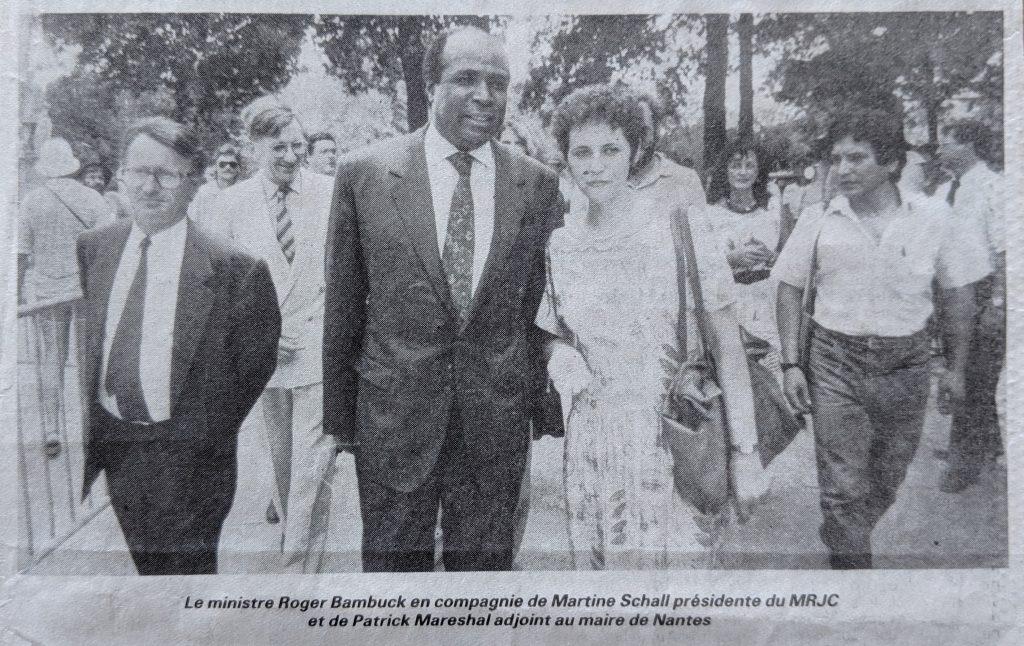 InterRail 1989: Press Ocean (Ausgabe vom 24. Juli) - Bürgermeister, Minister, MRJC-Vorsitzende