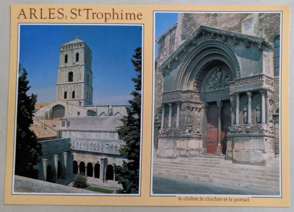 InterRail 1989: Arles (Postkarte 2) - St. Trophime