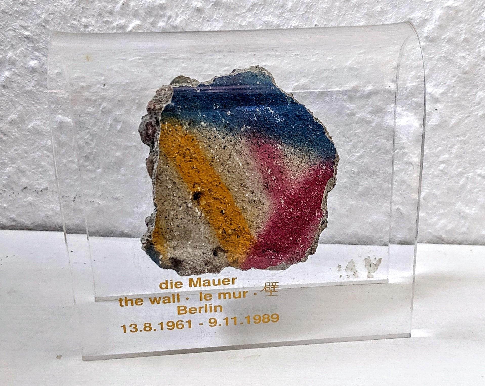 Ein Stück der Berliner Mauer.