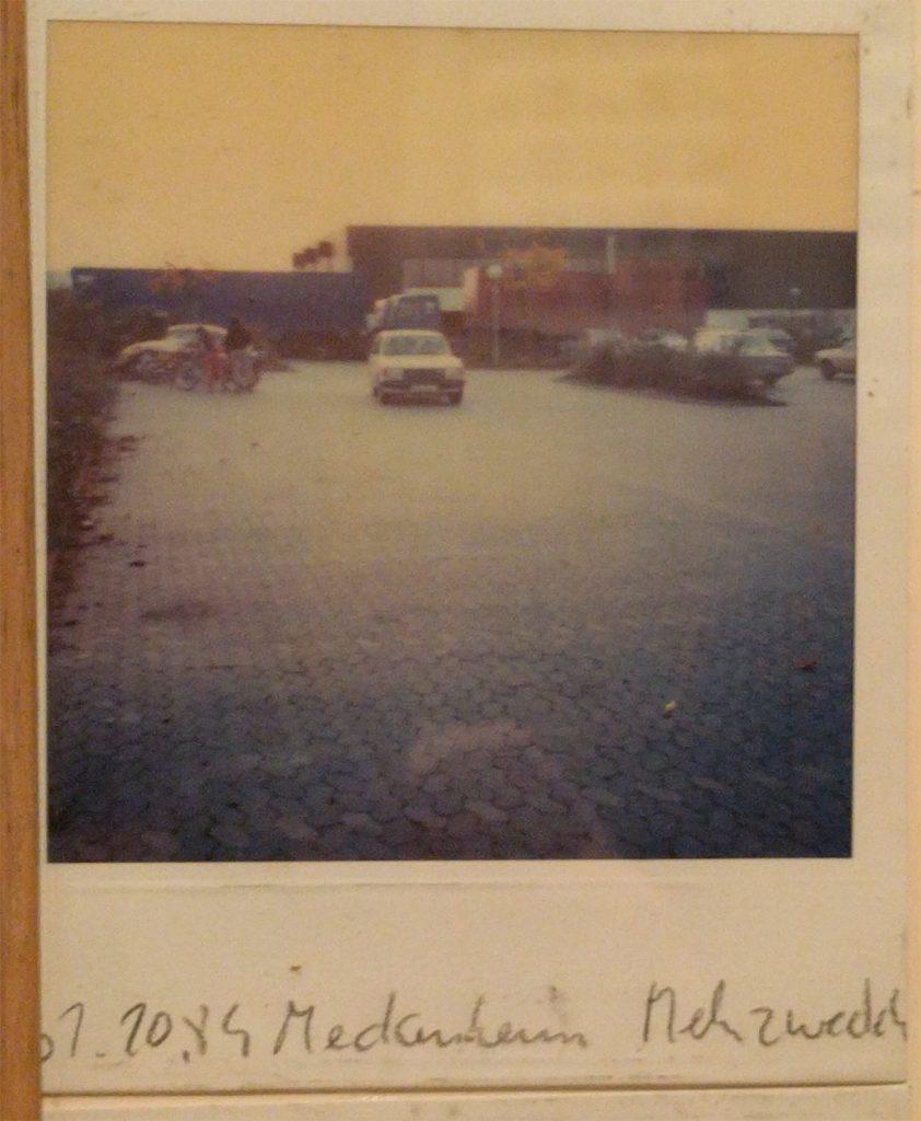 W. Niedecken: Meckenheim Mehzweckhalle (Polaraoid)