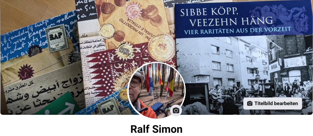 Facebook-Profil (Header- und Profilbild), 7. April 2021
